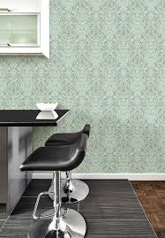 amazon com nuwallpaper nu2079 nomad damask peel and stick