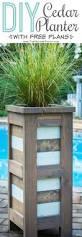 Patio Planter Box Plans by Best 25 Cedar Planter Box Ideas On Pinterest Cedar Planters