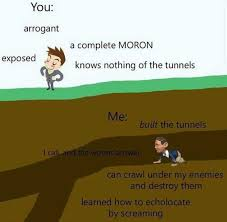 Moron Meme - dopl3r com memes you arrogant a complete moron exposed knows