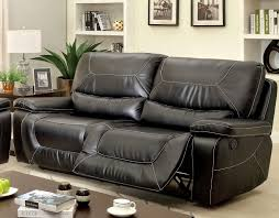 2 Seat Leather Reclining Sofa Sofa Recliner Reviews Black Leather 2 Seater Recliner Sofa