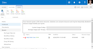 Sharepoint Help Desk Create New Site From Custom Web Template In Office 365 Sharepoint