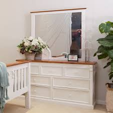 Timber Bedroom Furniture Sydney Jane Dresser With Mirror Wooden Furniture Sydney Timber Tables