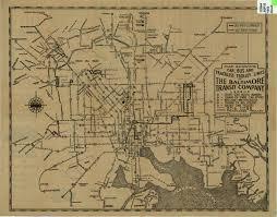 Charleston Trolley Map Warren V Fitzgerald 189 Md 476 1947 A Crossroads In