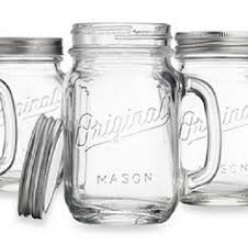 amazon com mason jar drinking glasses with handle and lid this