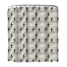 Fleur De Lis Shower Curtains Indecor Home Peva Neutral Fleur De Lis Shower Curtain Indecor Home