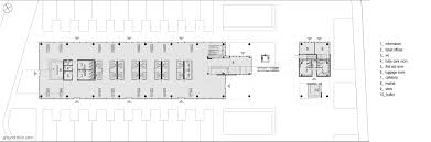 Bus Terminal Floor Plan Design