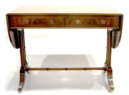 bureau en anglais sofa table bureau anglais d epoque georges iii lot