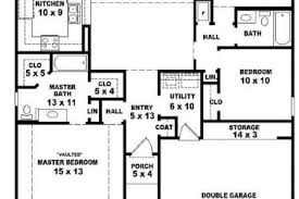 simple 3 bedroom house plans 21 simple one floor house plan room 3 bedroom house plans one