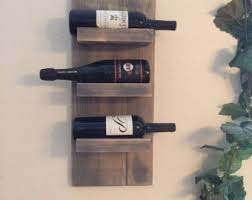 rustic wine rack etsy