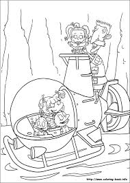 Rugrats Colotring Pages