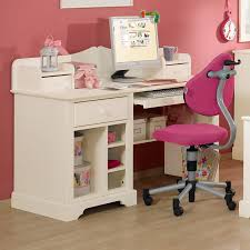 Kleinen Schreibtisch Kaufen Schreibtisch Für Kinder Massiver Fichte Und Weiß Lasiert Des