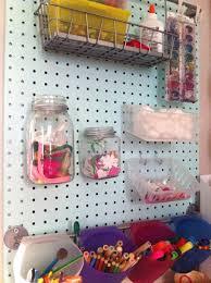 Kitchen Pegboard Ideas Storages Clear Plastic Pegboard Storage Jars Pegboard Storage
