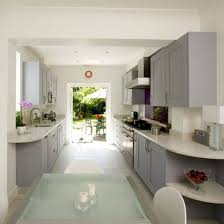 gallery kitchen ideas home designs galley kitchen design photos light grey kitchens