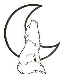 cartoon howling wolf coloring pages cartoon coloring pages