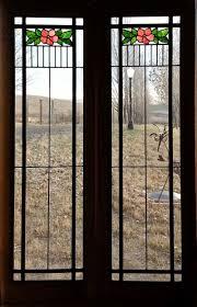 stained glass cupboard doors fid13076a u0026b 15 3 4 u201d x 48 1 4 u201d antique american stained glass