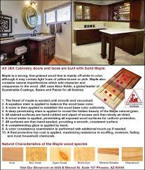 J K Kitchen Cabinets All Wood Kitchen U0026 Bath Cabinet Finishes J U0026k Phx Arizona