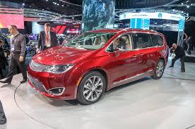 ferrari minivan 2017 chrysler pacifica new look new name new hybrid powertrain