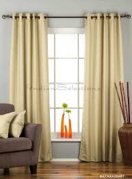 Raw Silk Drapery Panels by Curtains