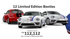 volkswagen beetle colors 2017 limited edition volkswagen beetle on sale exclusively on lazada