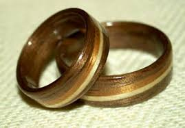 touch wood rings black walnut wood rings