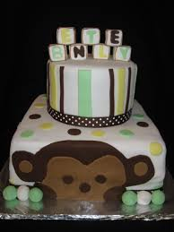 sabtabulous cakes monkey baby shower cake