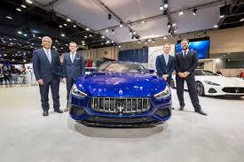 maserati lambert w motors and iconiq motors flagship showroom opening arab motor