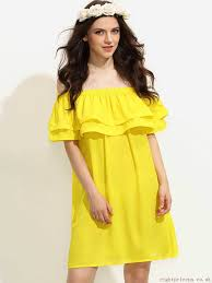 colorblock off the shoulder shift dress 18 30