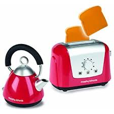 Kettle Toaster Amazon Com Casdon Little Cook Morphy Richards Toaster And Kettle