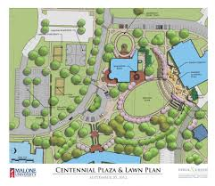 Ohio University Campus Map by Malone University Campus Enhancement Plan Derck U0026 Edson Associates
