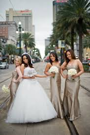 wedding dresses new orleans chagne mocha bridesmaids dresses in new orleans elizabeth