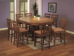pretty design ideas rustic counter height dining table sets all