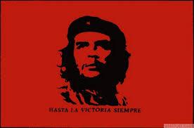 Flag Face Che Guevara Red 8 X 5 Flag