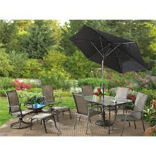 Castlecreek Patio Furniture by 11 Pc Paradise Bay Patio Set 217067 Patio Furniture At