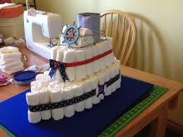 Diaper cake for