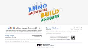 Fiu Resume Life Google Of Computing And Information Sciences
