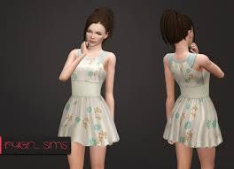 annett u0027s sims3 welt blue night dresses set by annett85 sims 3