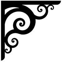 Wooden Shelf Bracket Patterns by Iron Shadows High Quality Artwork For Cnc Plasma Cutters And
