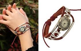 Best Gift For Women Ps0070 Best Gift For Girls Leather Bracelets Fancy Personal Sport