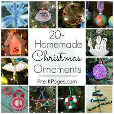ornaments can make pre k pages