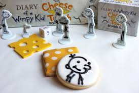 diary of a wimpy kid cheese touch game party cookies created by
