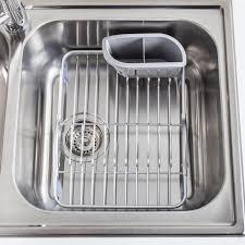Kitchen Sink Dish Rack Ksp Inset Sink Dish Rack Aluminum Kitchen Stuff Plus