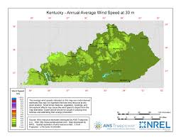 Kentucky vegetaion images Windexchange kentucky 30 meter residential scale wind resource map jpg