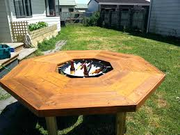 Diy Firepit Table Pit Table Grill Pit Grill Table Diy Outdoor Pit Bbq