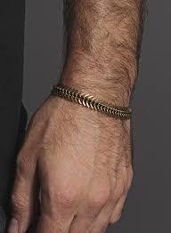 men s men s bracelet spine shaped brass bracelet for men and