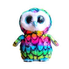 ty beanie boos original big eyes plush toy doll 10 15cm multicolor