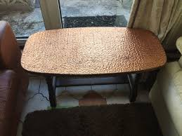 copper top coffee table furniture copper top coffee table ideas brown round industrial