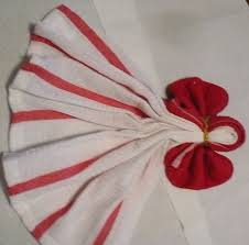kitchen towel craft ideas 21 best dish towel images on towel origami fold