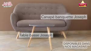 canapé gifi gifi découvrez la nouvelle collection de mobilier