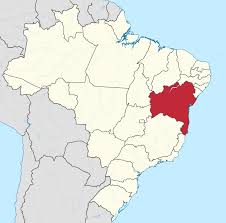 Brazil On South America Map by Bahia Wikipedia