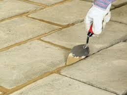 How To Cover A Concrete Patio With Pavers How To Lay A Concrete Paver Patio How Tos Diy